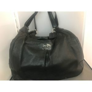 Flawless Leather Coach Hobo Bag No. G1271-21225
